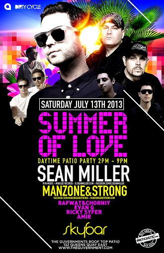 Sean Miller, Manzone & Strong, Rafwat & Chornyi, Evan G, Ricky Syfer, Amir Skybar Toronto
