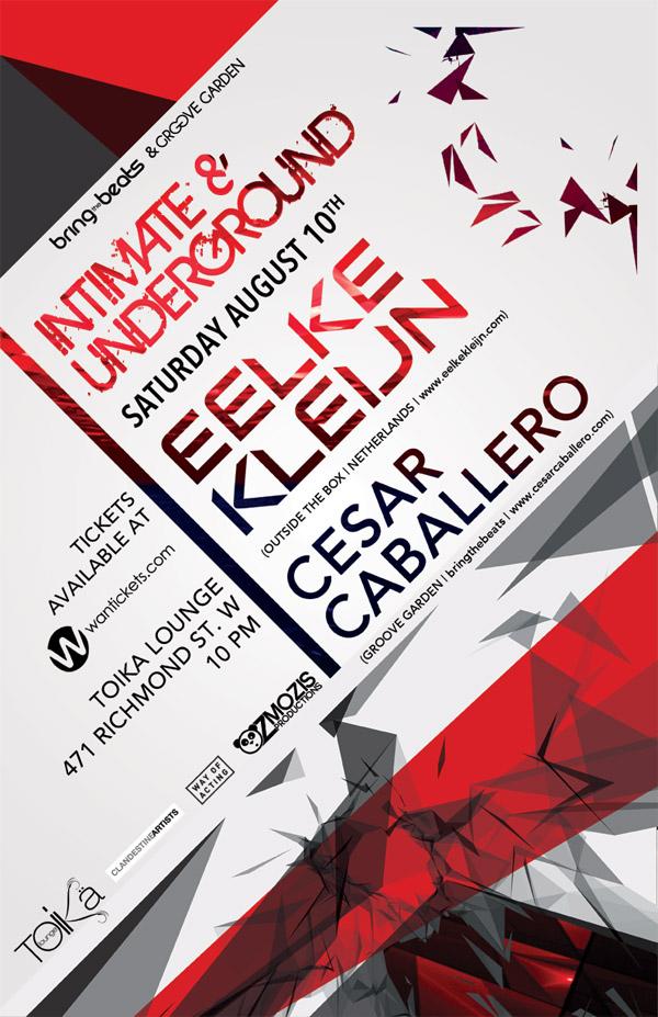 Eelke Kleijn & Cesar Caballero Toika Lounge Toronto