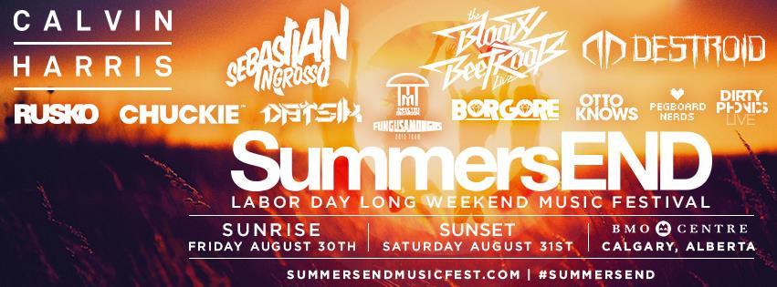 SummersEND Music Festival Calgary