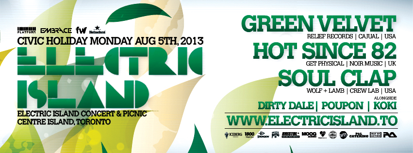 Electric Island August 5th