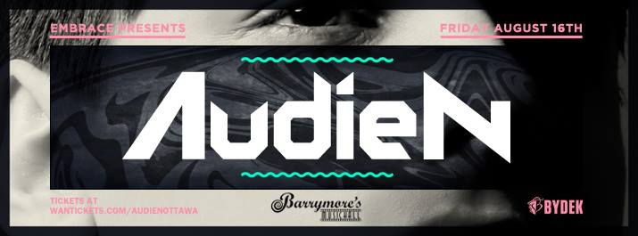 Audien at Barrymore's Ottawa