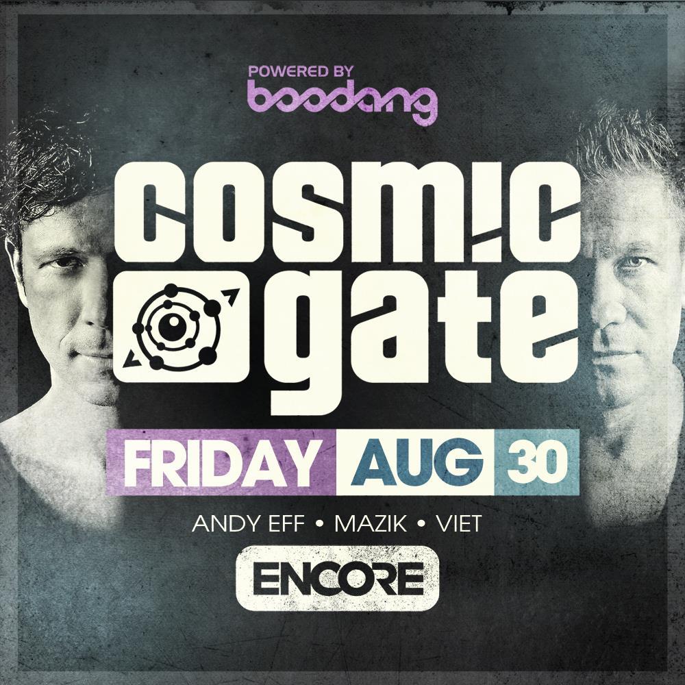 Cosmic Gate, Andy Eff, Mazik, Viet Encore Edmonton
