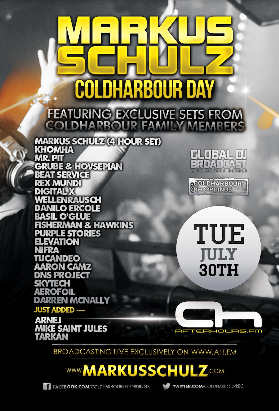 Markus Schulz Presents Coldhabour Day