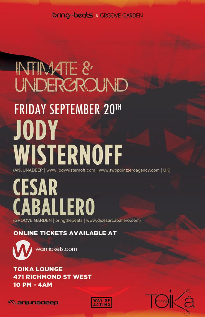 Jody Wisternoff w/ Cesar Caballero