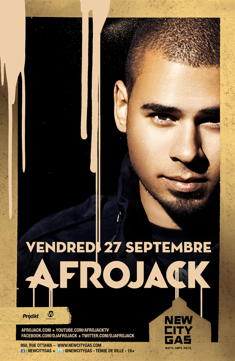 Afrojack at New City Gas Montreal