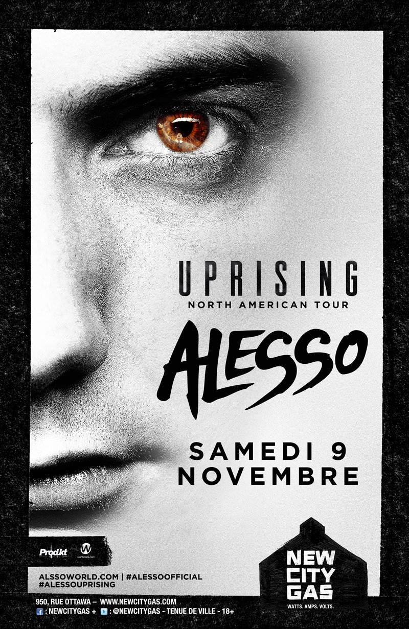 Alesso at New City Gas in Montreal