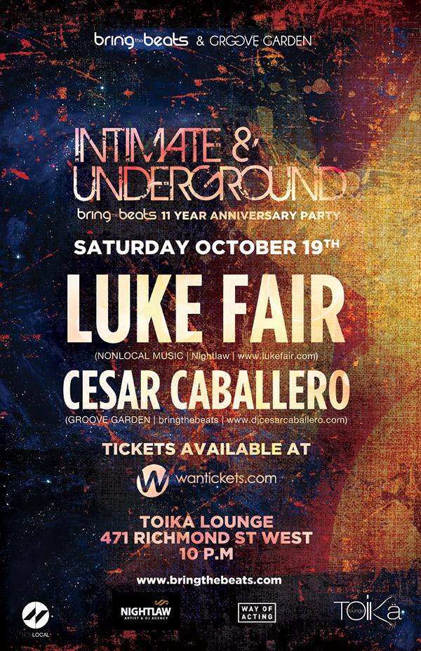 Luke Fair & Cesar Caballero Toika Lounge