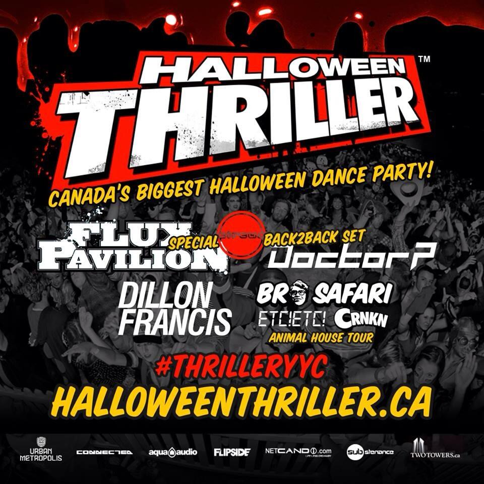 Flux Pavilion B2B Doctor P, Dillon Francis, Bro Safari, ETC!ETC!, CRNKN at Big Four Building
