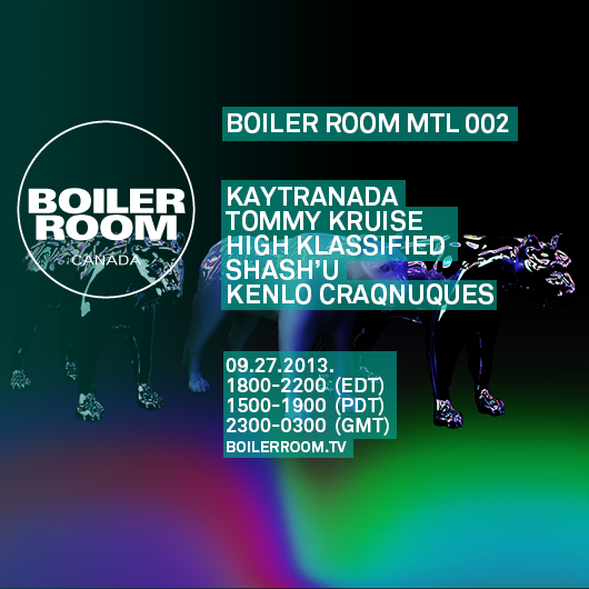 Boiler Room Montreal