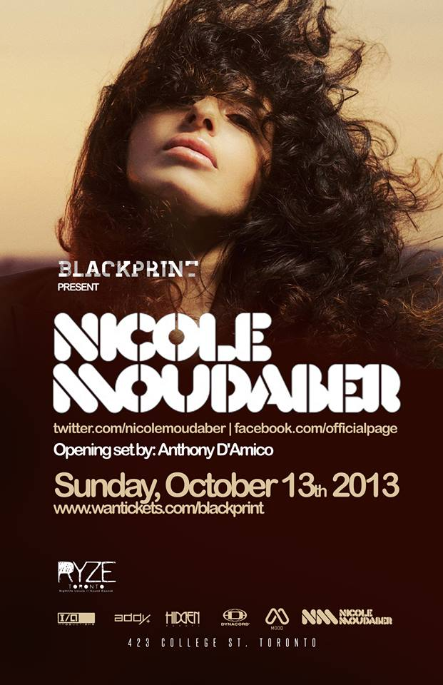 Nicole Moudaber, Anthony D'Amico at Ryze Toronto