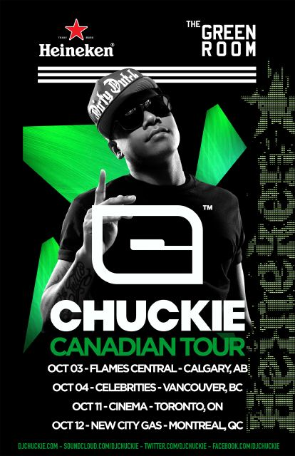 Chuckie Canadian Tour
