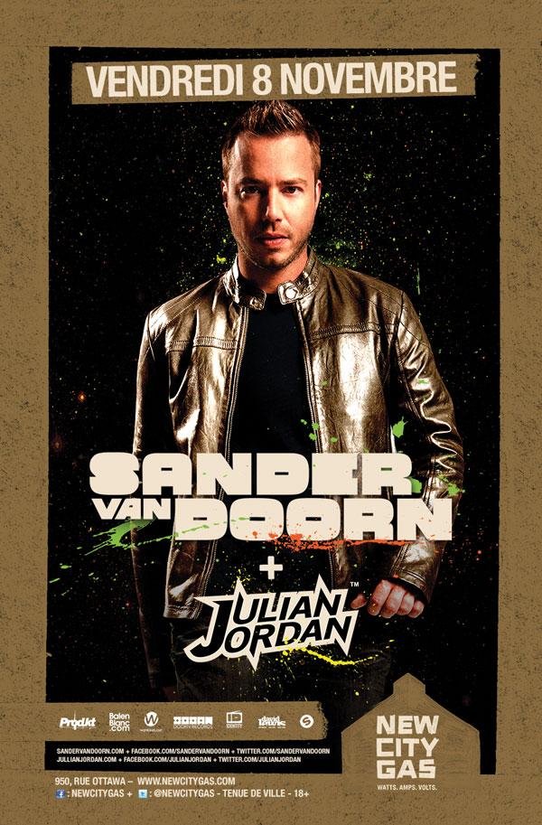 Sander Van Doorn w/ Julian Jordan at New City Gas Montreal