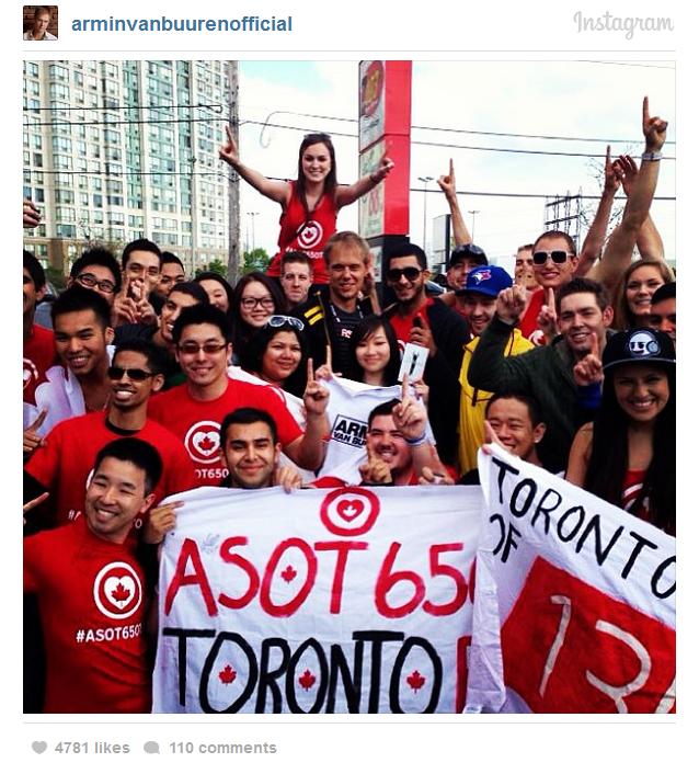 Armin Van Buuren ASOT 650 Toronto