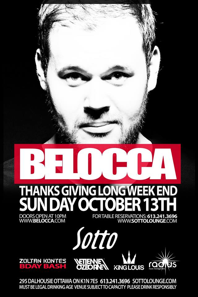 Belocca, Zoltan Kontes, Etienne Ozborne, King Louis at Sotto Ottawa