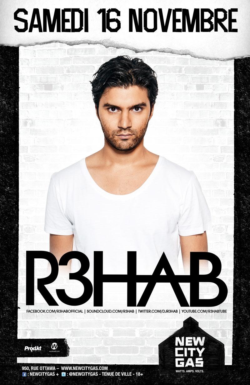R3HAB at New City Gas Montreal