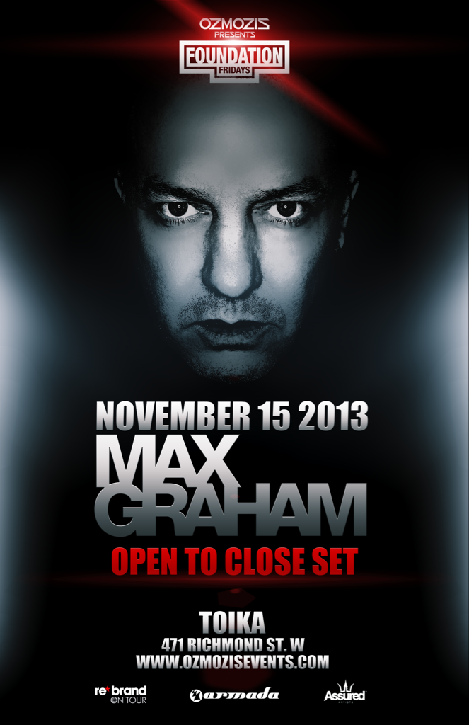 Max Graham (open to close set) in Toronto