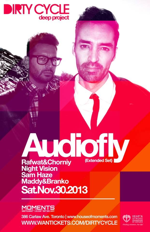 Audiofly at House Of Moments Toronto