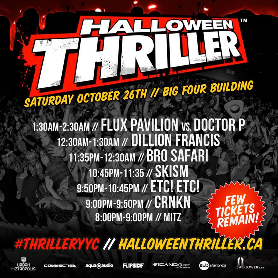Thriller Calgary