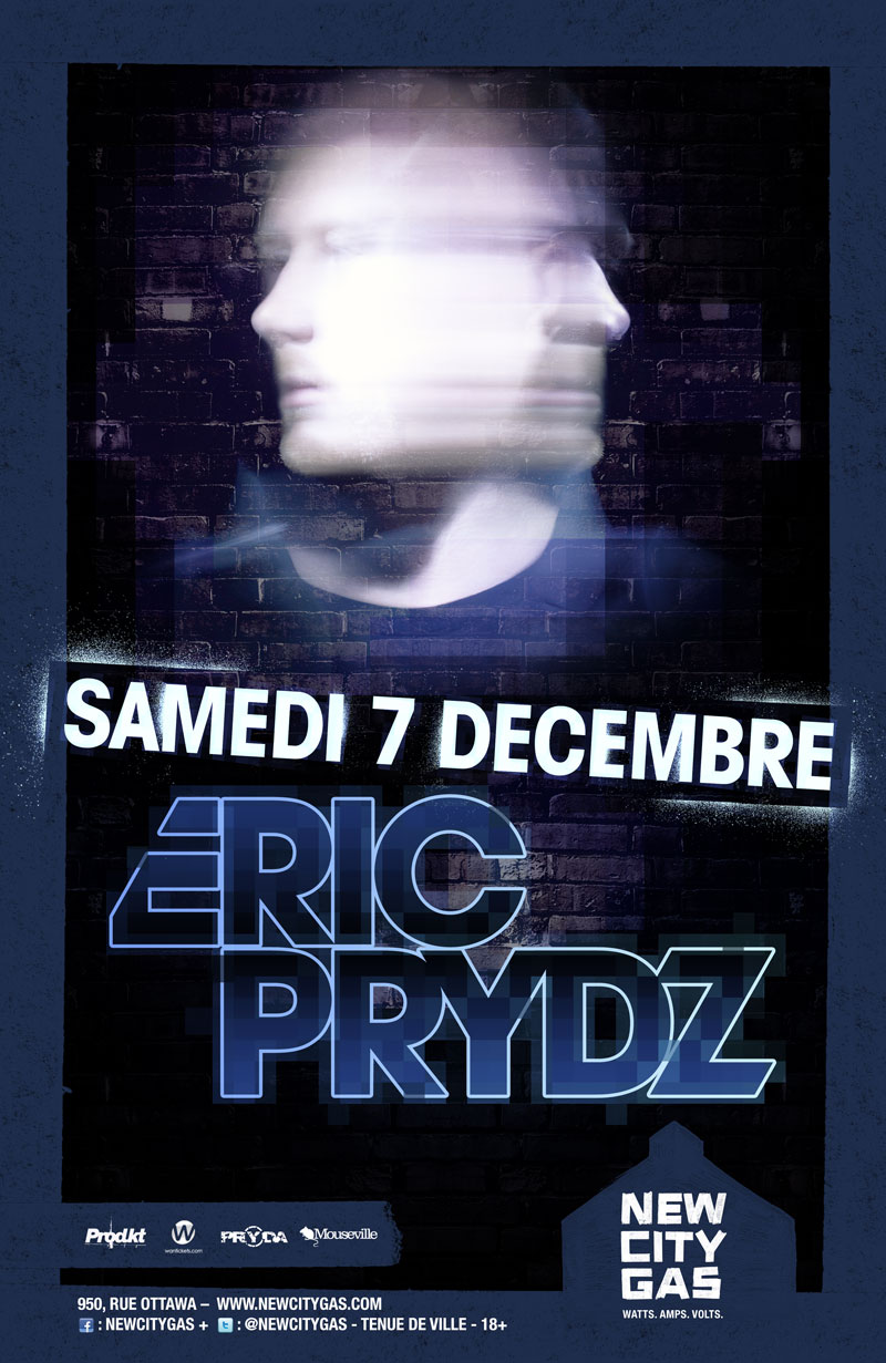 Eric Prydz at New City Gas Montreal