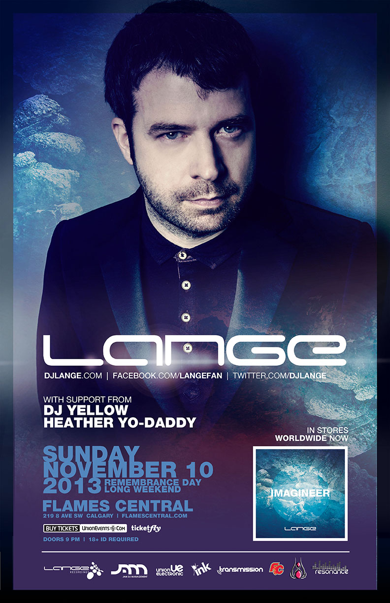 Win 2 tickets to see Lange in Calgary!