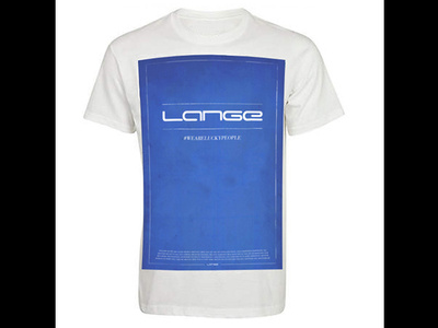 "Win a Lange ""We are lucky people"" t-shirt"