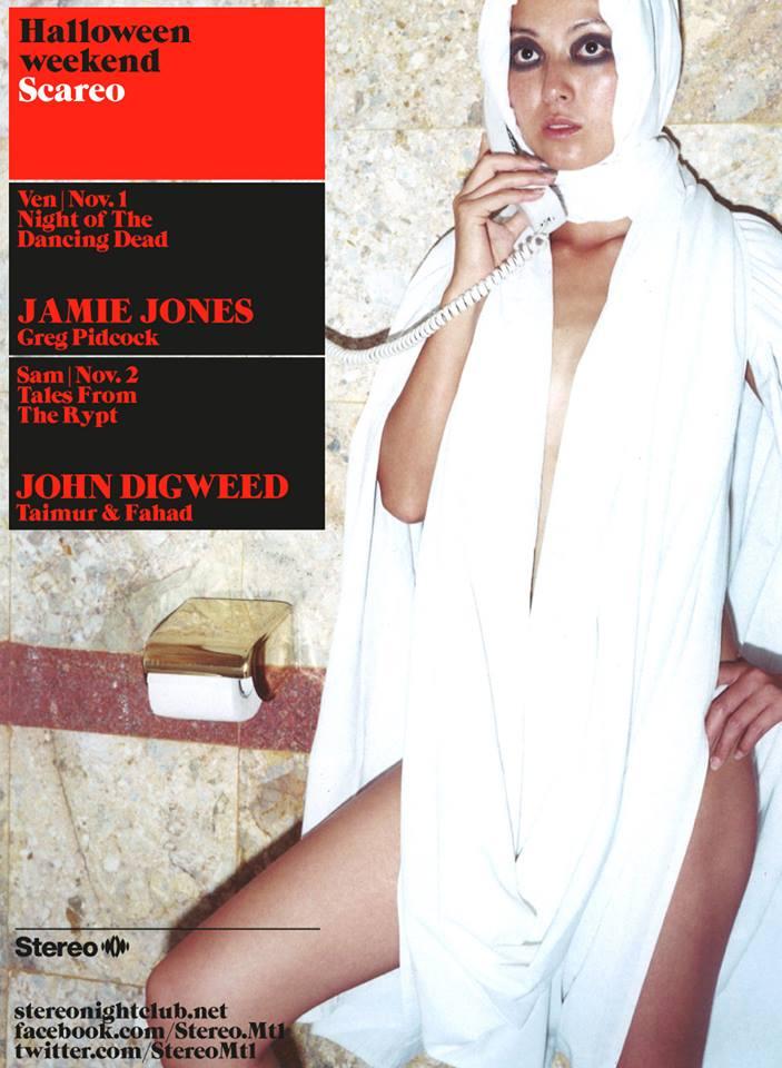 Jamie Jones at Stereo Montreal