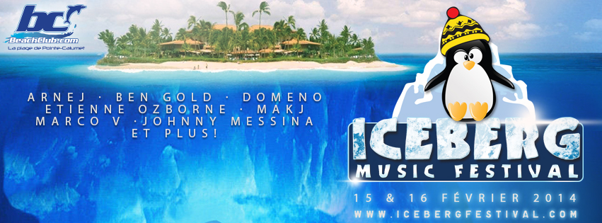 Iceberg Festival 2014 in Montreal at the Beach Club: Marco V, Ben Gold, MAKJ, Arnej, Domeno, Etienne Ozborne, Johnny Messina + More will be announced.