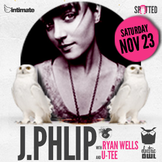J  .PHLIP (Dirtybird), Ryan Wells, U-Tee at Electric Owl Vancouver