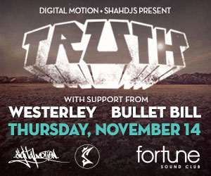 TRUTH, Westerley, Bullet Bill at the Fortune Sound Club Vancouver