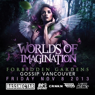 Bassnectar, Bro Safari, CRNKN, Torro Torro, Mark Instinct at Gossip Nightclub Vancouver