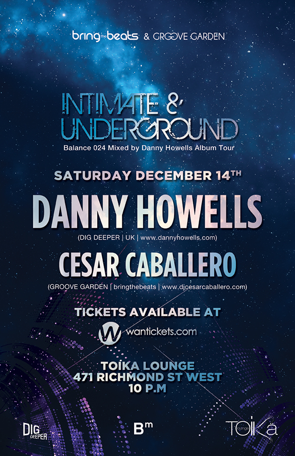 Danny Howells w/ Cesar Caballero at Toika Lounge Toronto