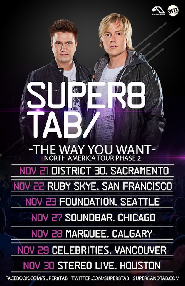 Super8 & Tab ticket giveaway for Calgary and Vancouver