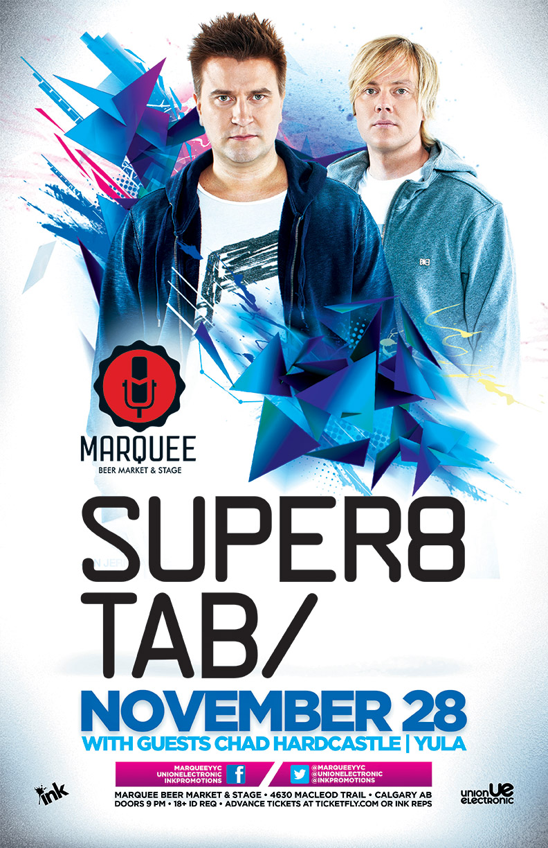Super8 & Tab in Calgary