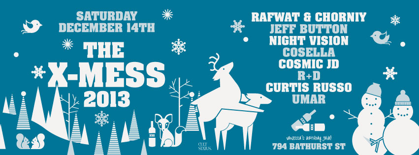 Rafwat & Chorniy, Jeff Button, Cosella, Cosmic JD, R+D, Curtis Russo, Umar at 794 Bathurst Toronto