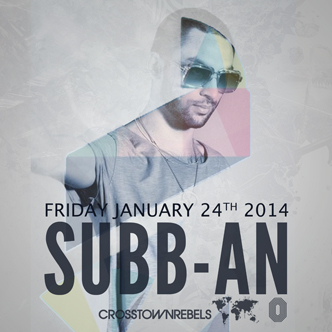 Subb-An in Vancouver at Electric Owl