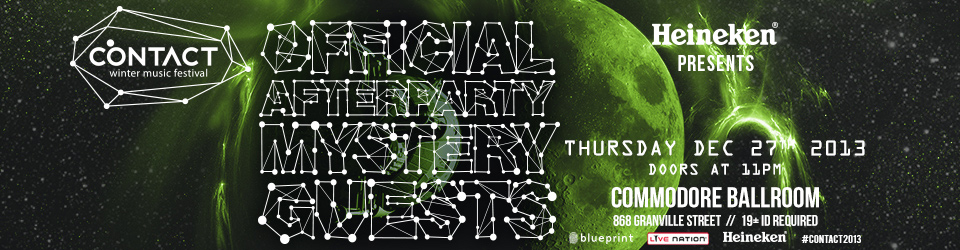 Contact official aftparty ft. Mystery Contact Headliner(s) at Commodore