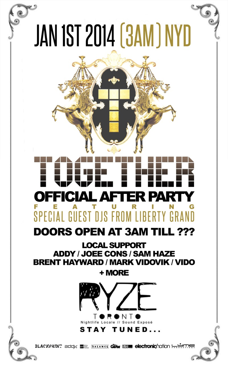 Together Official Afterparty @ Ryze