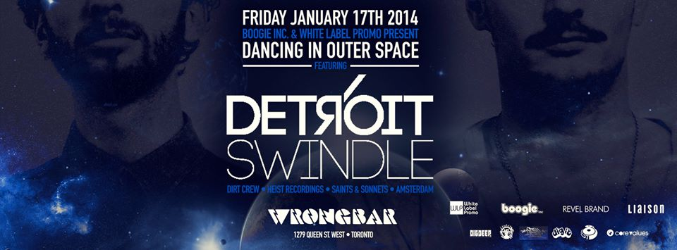 Detroit Swindle, Toronto Hustle (Tyrone Solomon, Mark Kufner, Jeff Graham), Jeff Button at Wrongbar