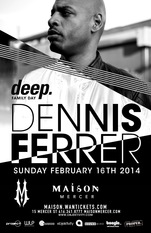 Dennis Ferrer at Maison Mercer Toronto