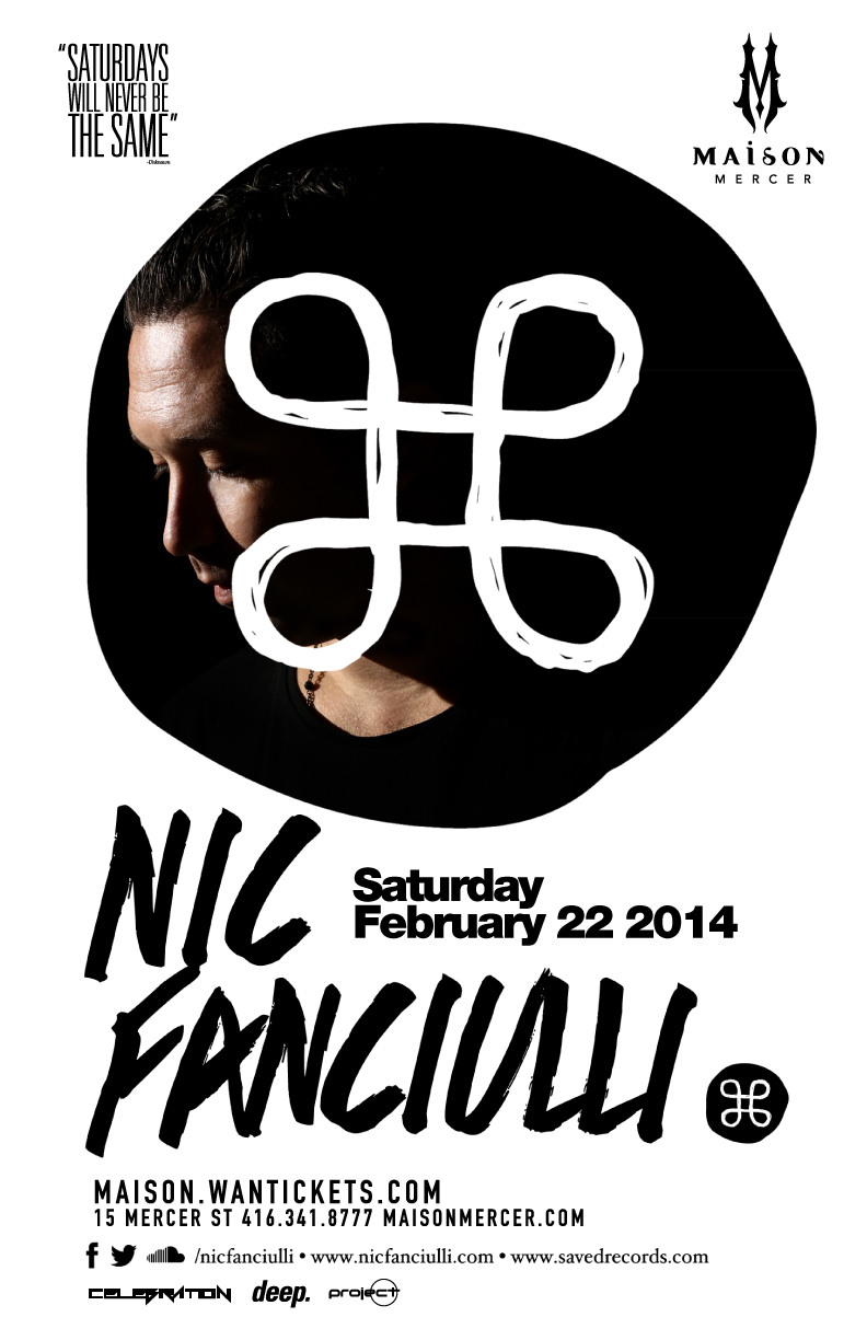 Nic Fanciulli at Maison Mercer in Toronto