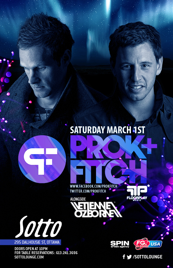 Prok & Fitch w/ Etienne Ozborne at Sotto in Ottawa