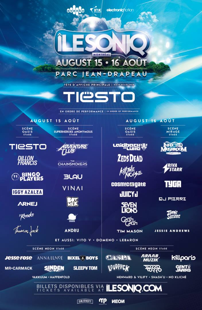 Phase 2 lineup (Click to Zoom)