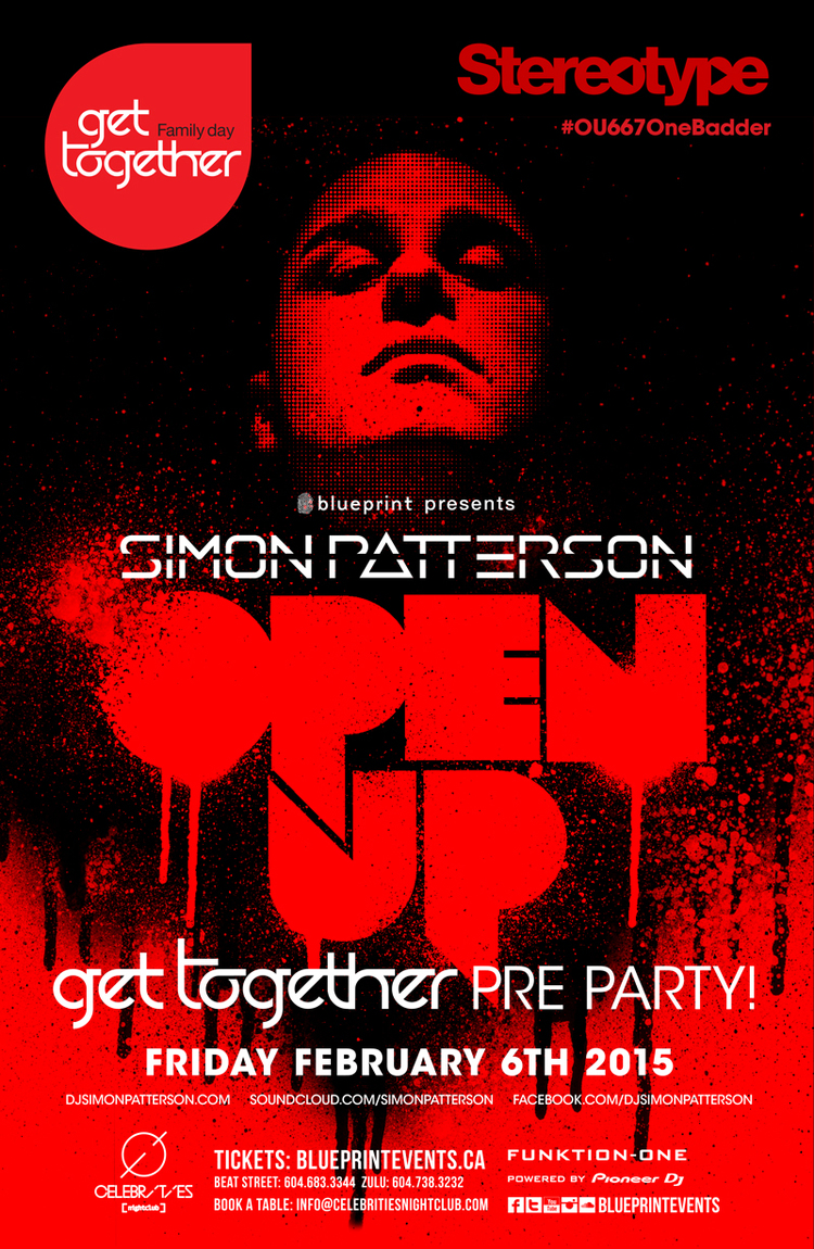 Friday february 6th simon patterson celebrities edm canada click here to return to the edm vancouver event calendar page malvernweather Images
