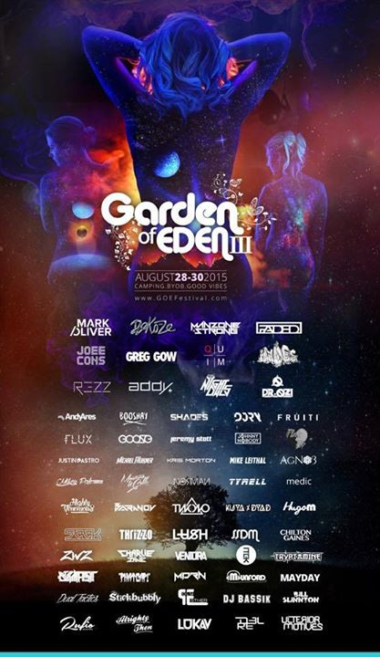 Garden of eden 2015 edm canada garden of eden festival 2015 publicscrutiny Image collections