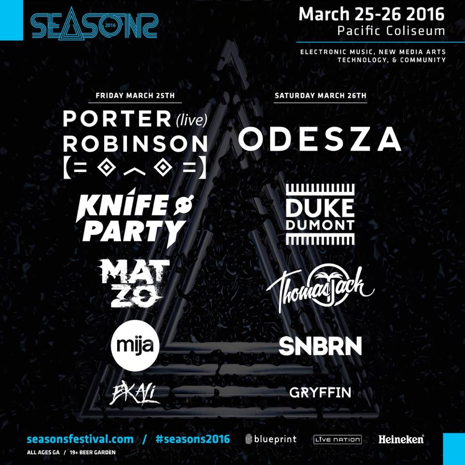 Friday march 25th saturday march 26th seasons festival 2016 click here to return to the edm vancouver event calendar page malvernweather Choice Image