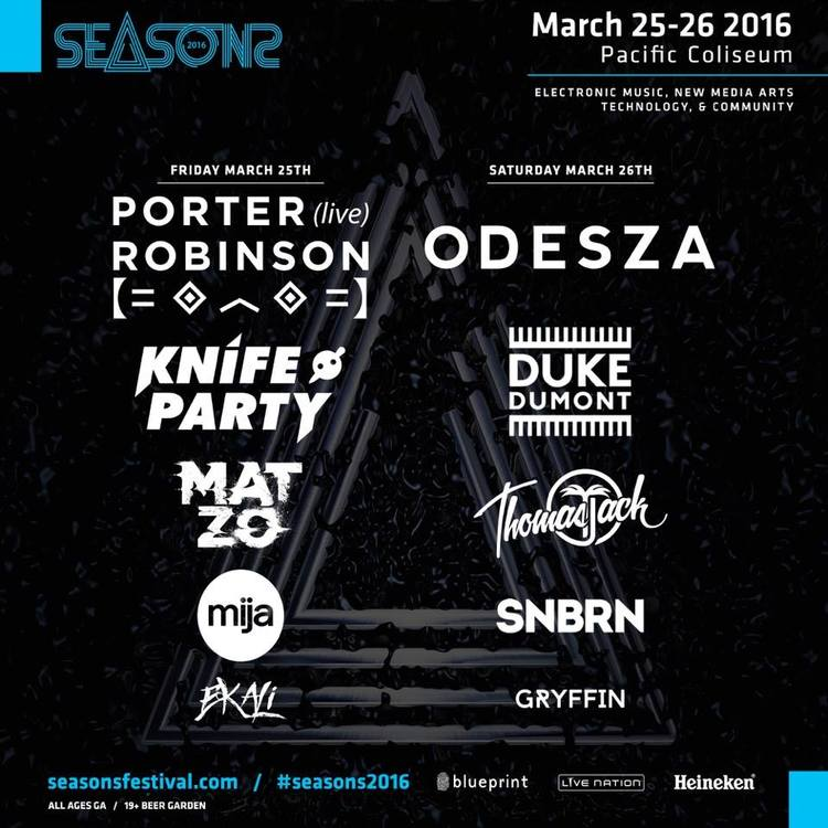 Friday march 25th saturday march 26th seasons festival 2016 click here to return to the edm vancouver event calendar page malvernweather Image collections