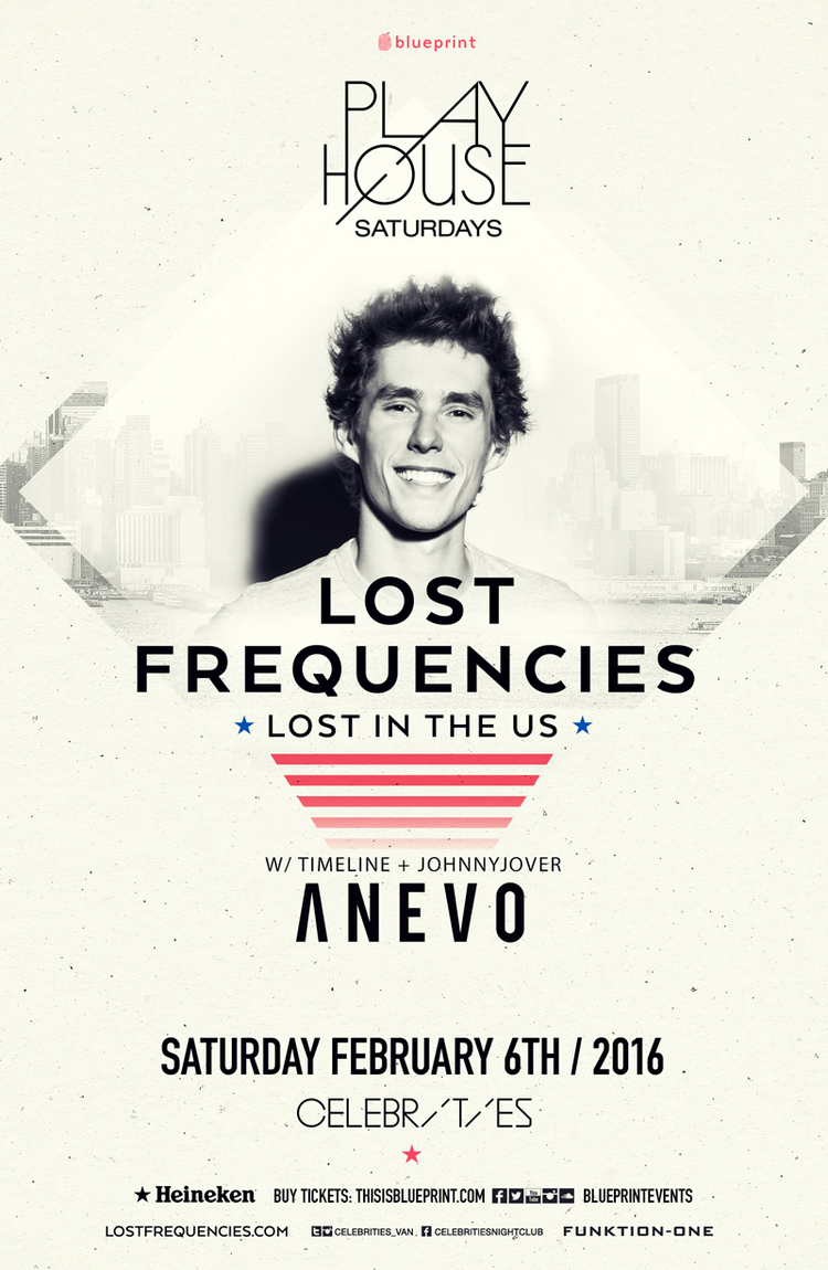 Saturday february 6th lost frequencies w anevo celebrities click here to return to the edm vancouver event calendar page malvernweather Images