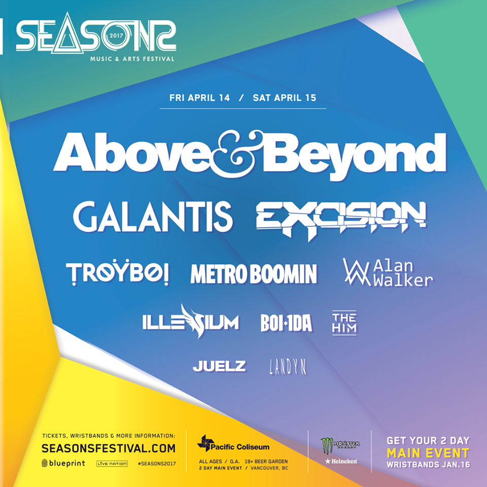 Fri april 14th sat april 15th seasons 2017 w above beyond click here to return to the edm vancouver event calendar page malvernweather Images