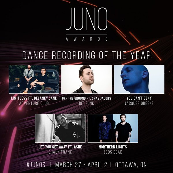 VIA @TheJUNOAwards