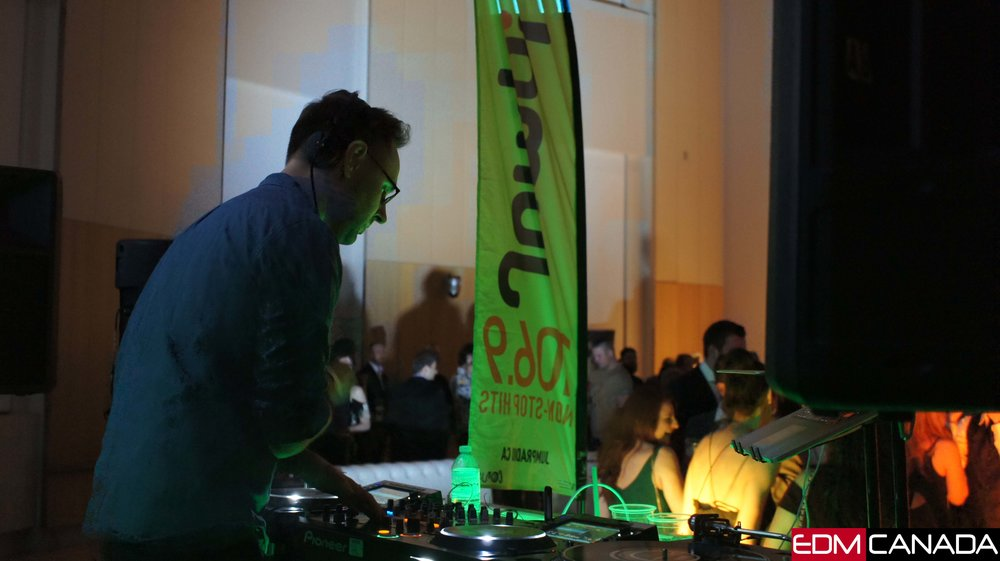 Bit funk doing a dj set for the nature nocturne event at the museum of nature